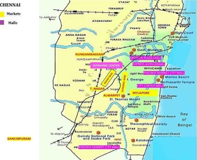 chennai Map
