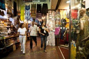 Shops in Irla market
