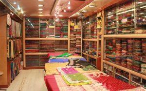 Silk sarees in Naryani Silk house