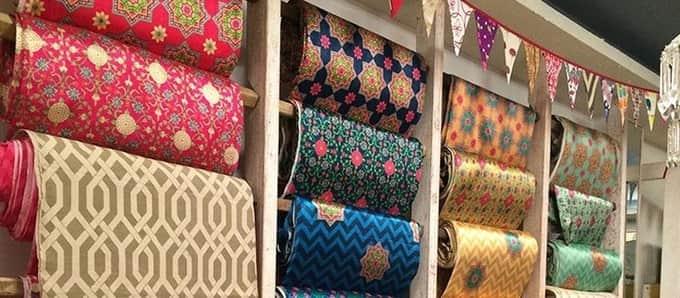 Cloth markets in Delhi