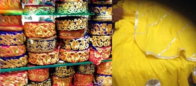 Kinari Bazar -Cloth markets in Delhi