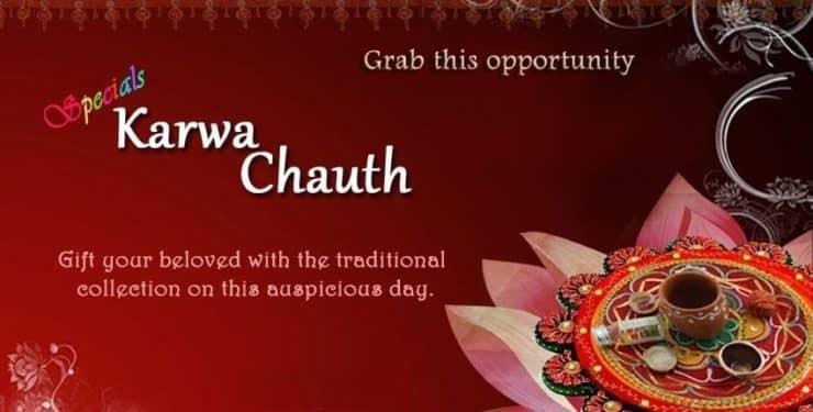 Karva Chauth Shopping