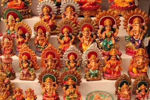 IDOLS of Ganeshj i& Lakshmi