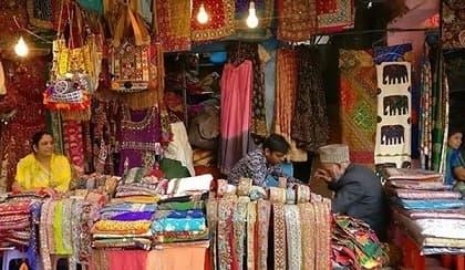 Sunday markets in Delhi