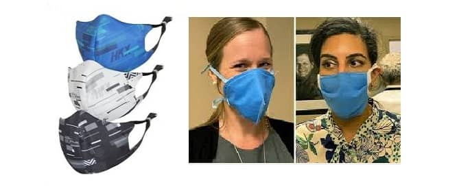 conical face mask