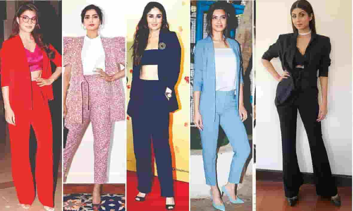 Bollywood Actress in suits