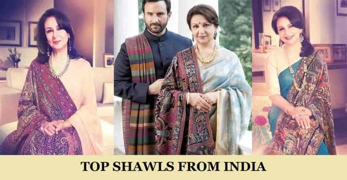 Top Shawls from India