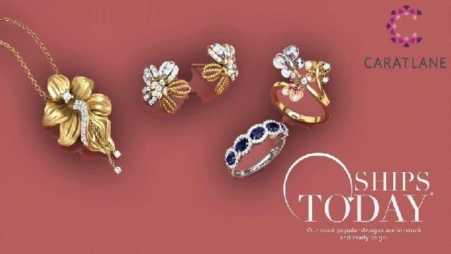 Caratlane gold jewellery online